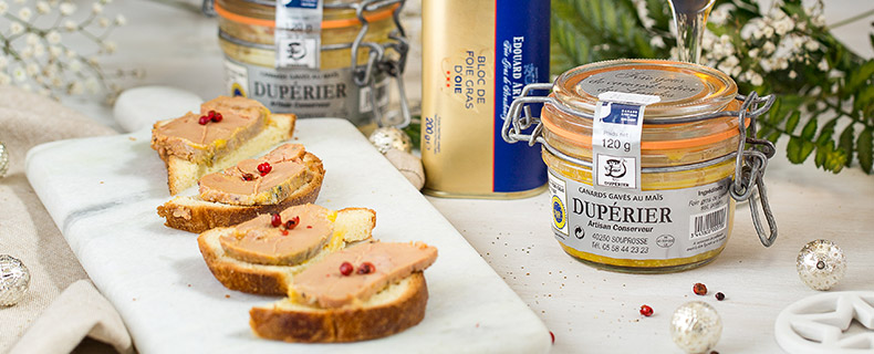 foie gras e tartufi