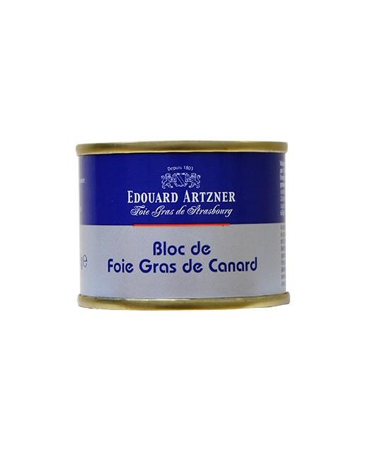 Bloc di foie gras di anatra 65 g - Edouard Artzner