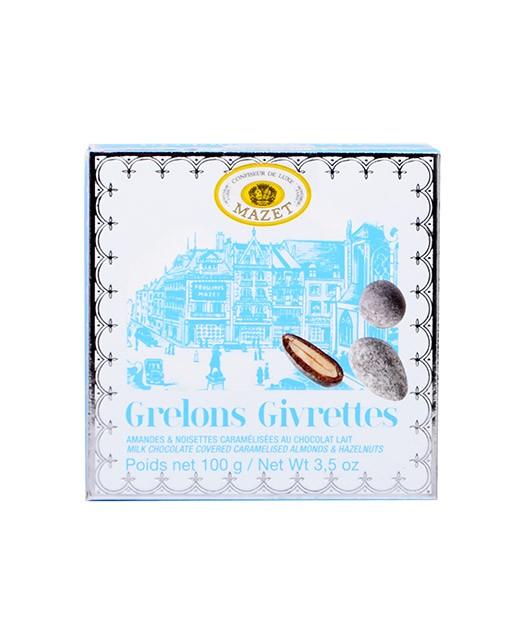Specialità di cioccolato Grêlons e Givrettes - Mazet