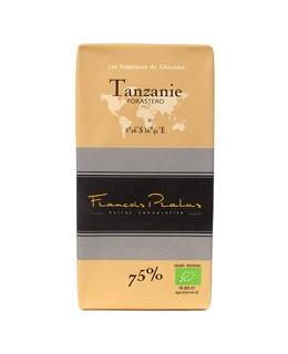 Tavoletta di cioccolato fondente - Tanzania bio - Pralus