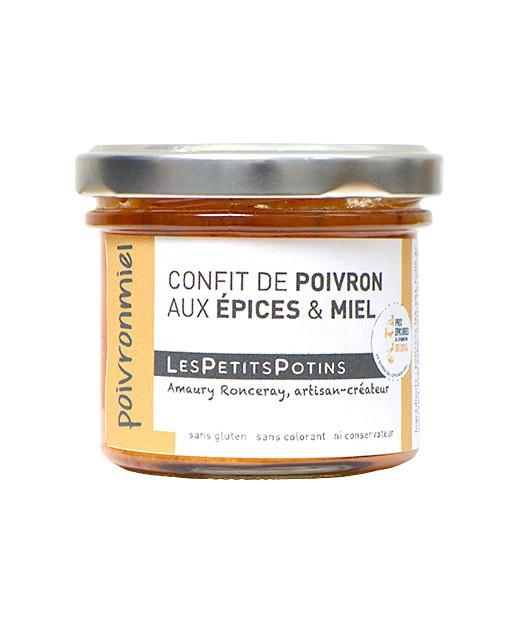 Confit di peperoni, miele e spezie - Les Petits Potins