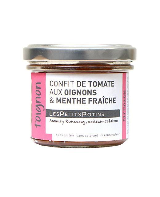 Confit di pomodori, cipolle e cumino - Les Petits Potins