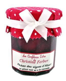 Marmellata di pesche vignarole, Pinot nero, cannella - Christine Ferber