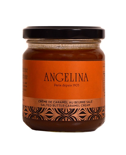 Crema spalmabile al caramello e al burro salato - Angelina