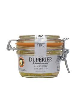 Foie gras d'anatra intero 120 g - Dupérier