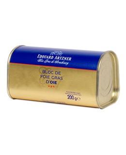 Bloc di foie gras d'oca 200g - Edouard Artzner