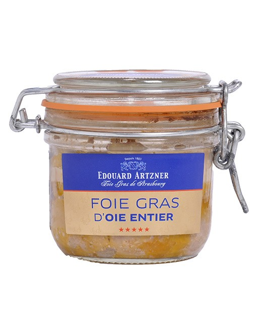 Foie Gras d'oca intero in gelatina 290g (scatola) - Edouard Artzner