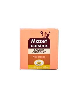 Fonduta al cioccolato - Fondente e Arancia - Mazet