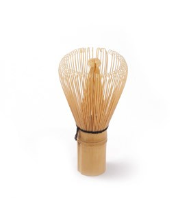 Frusta da Matcha in bambù - Les Jardins de Gaïa
