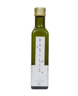 Olio d'Oliva al basilico - Libeluile