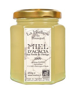 Miele d'acacia bio - Miellerie du Bousquet