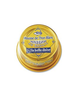 Mousse di tonno bianco alalunga al basilico - La Belle-Iloise