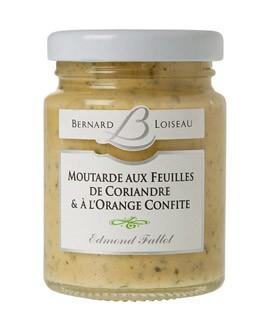 Senape alle foglie di coriandolo e arancia - Fallot