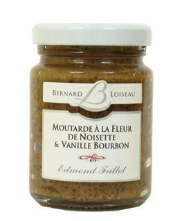 Senape alla nocciola e vaniglia Bourbon - Fallot