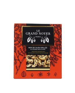 Anacardi tostati dorati al sesamo nero - Le Grand Noyer