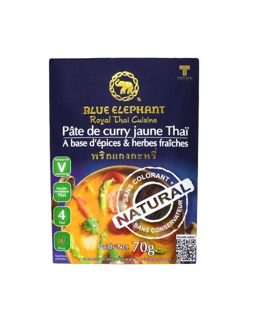 Crema al Curry Giallo - Blue Elephant