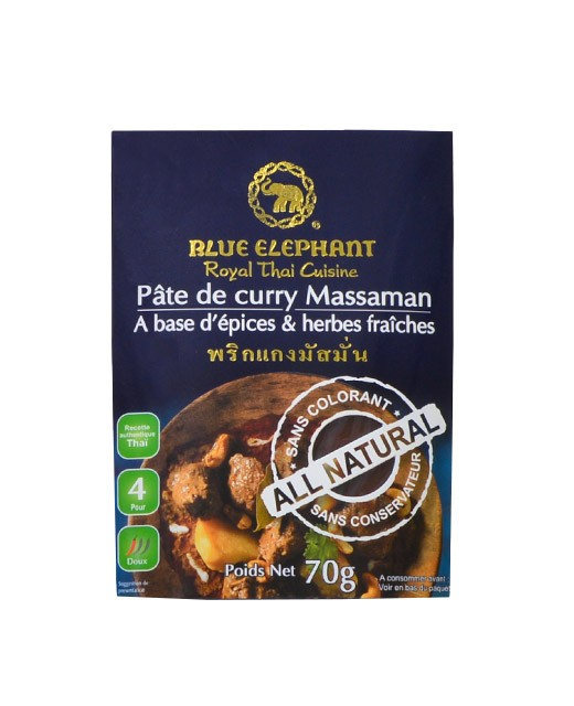 Crema al Curry Massaman - Blue Elephant