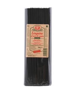 Linguine al nero di seppia - Rustichella d'Abruzzo