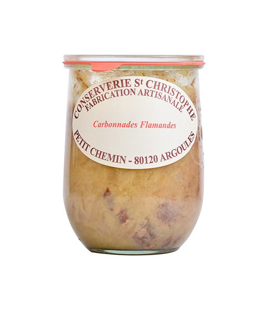 Piatto cucinato Carbonnade Fiamminga - Conserverie Saint-Christophe