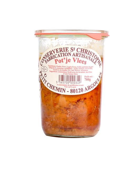 Piatto cucinato Potjevleesch fiammingo - Conserverie Saint-Christophe