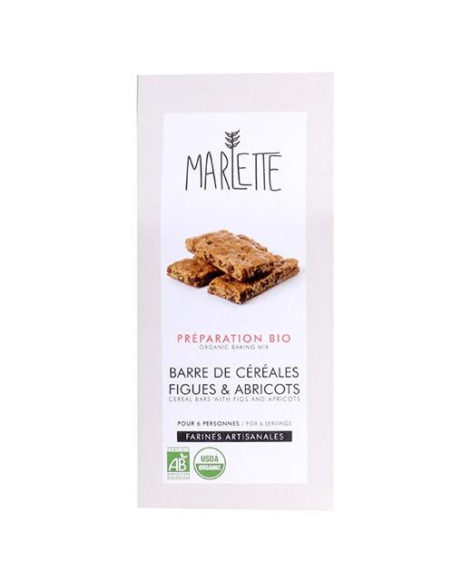 Preparazione bio per Barrette cereali ai fichi e albicocche - Marlette