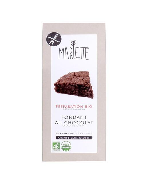 Preparazione bio per Fondente al cioccolato senza Glutine - Marlette