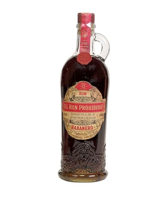 Rum Prohibido Habanero 12 anni - El Ron Prohibido
