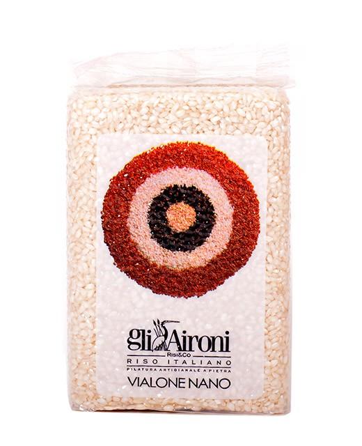 Riso Vialone Nano 1 kg - Gli Aironi