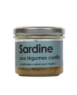 Sardine alle verdure confit - L'Atelier du Cuisinier