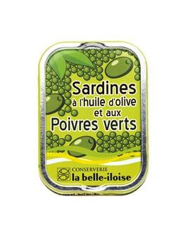 Sardine all'olio d'oliva con peperoni verdi - La Belle-Iloise