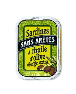 Sardine all'olio d'oliva senza lische - La Belle-Iloise