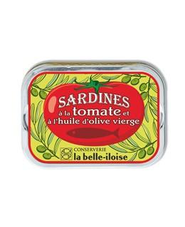 Sardine all'olio extravergine d'oliva con pomodori - La Belle-Iloise