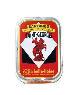 Sardine all'olio extravergine d'oliva Saint Georges - La Belle-Iloise