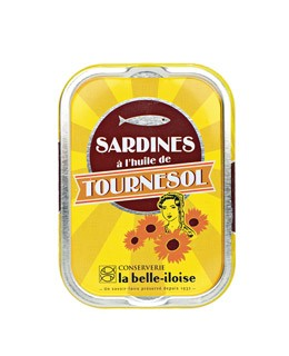 Sardine all'olio di girasole - La Belle-Iloise