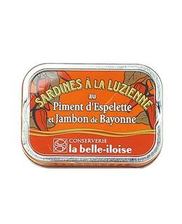 Sardine alla Luzienne - La Belle-Iloise