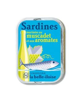 Sardine marinate al moscatello e agli aromi - Belle-Iloise (La)