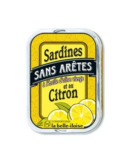Sardine senza lische all'olio d'oliva e limone - Belle-Iloise (La)