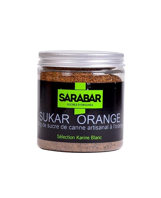 Zucchero artigianale - arancia - Sarabar