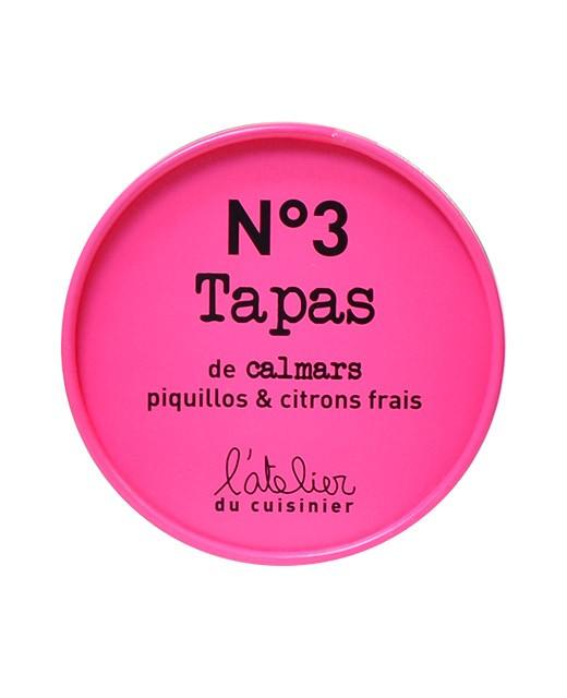 Tapas N°3 - Calamari, piquillos e limoni freschi - L'Atelier du Cuisinier