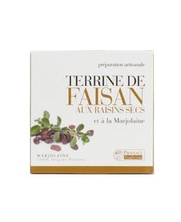 Paté di Fagiano con uva e maggiorana - Provence Tradition
