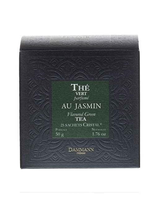 Tè verde al gelsomino - filtri cristal - Dammann Frères