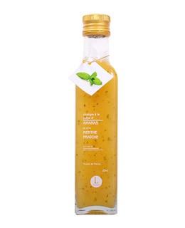 Aceto alla polpa d'ananas e menta - Libeluile