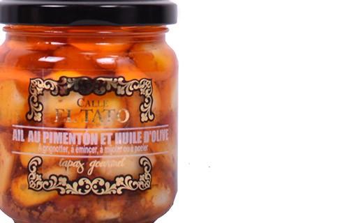 Aglio alla Paprika e all'olio di oliva - Calle el Tato