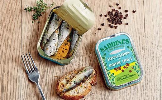Sardine all'olio vergine d'oliva, timo limone e pepe di Timut - Belle-Iloise (La)