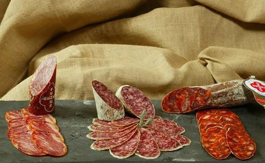 Salame di Bellota - affettato - Beher