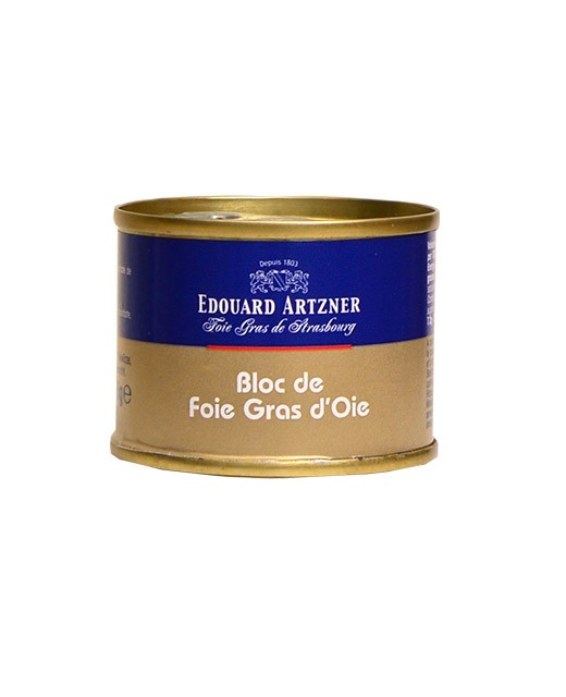 Bloc de foie gras di oca 65 g - Edouard Artzner