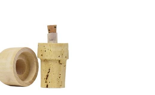 Tappi dosatori in sughero e legno 50 cl - Guinelle (La)