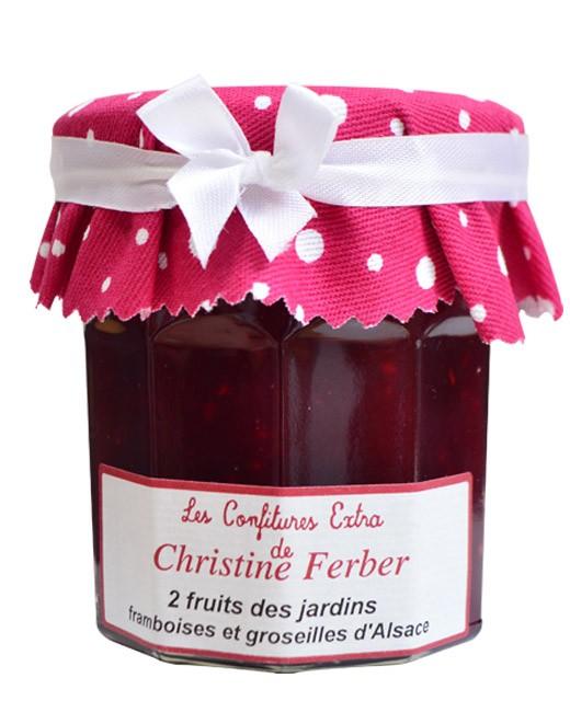Marmellata con due frutti rossi - lampone, ribes - Christine Ferber