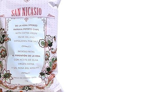 Chips all'olio extra vergine d'oliva - paprika affumicata D.O.P. - San Nicasio