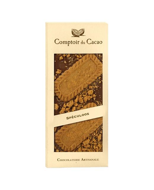 Tavoletta di cioccolato al latte - speculoos - Comptoir du Cacao
